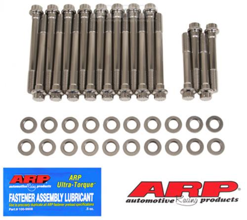 ARP Oldsmobile 350-455 7/15in SS 12pt Head Bolt Kit