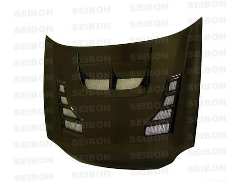 Seibon CW Style CARBON FIBER HOOD SUBARU IMPREZA / WRX / STI (GC6/8)* 2002-2003