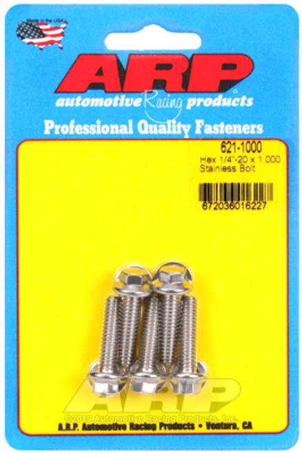 ARP 1/4-20 x 1.000 Hex SS Bolts