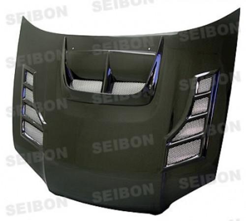 Seibon CW Style CARBON FIBER HOOD SUBARU IMPREZA / WRX / STI (GDA/B/F OR GGA/E)* 2004-2005