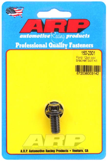ARP Ford 12pt Coil Bracket Bolt Kit