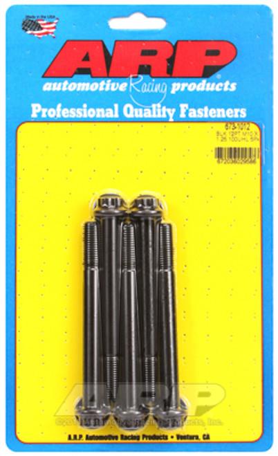 ARP M10 x 1.25 x 100 12pt Black Oxide Bolts