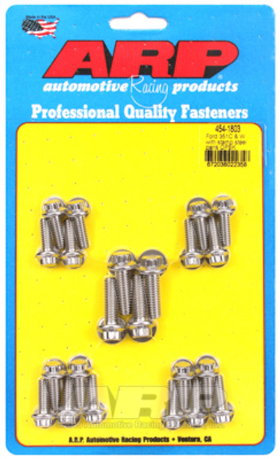 ARP Ford SS 351C and W 12pt Oil Pan Bolt Kit