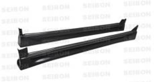 Seibon CW Style SIDE SKIRTS (pair) SUBARU IMPREZA / WRX / STI 2006-2007