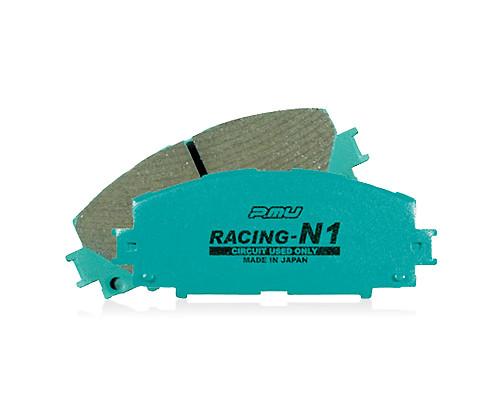Project Mu 04-09 STi / 03-06 Evo 8/9 / 03-05 G35 w/ Brembo N1-RACING Rear Brake Pads