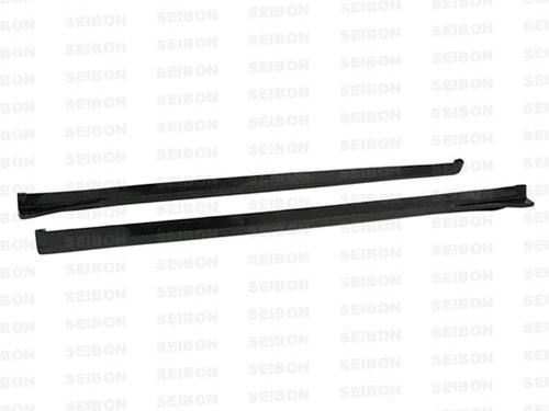 Seibon CS Style SIDE SKIRTS (pair) SUBARU STI HATCHBACK ONLY 2008-2010
