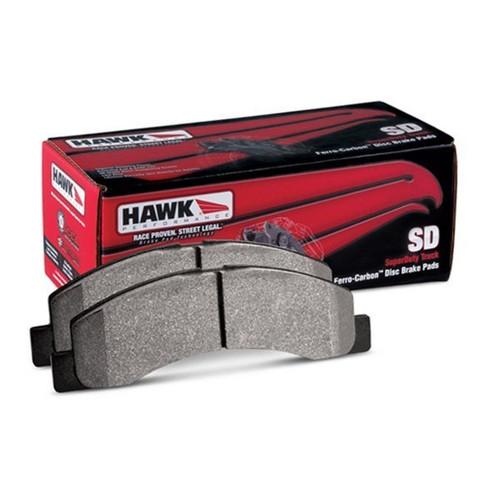 Hawk 11-13 Infiniti QX56 / 14-17 Infiniti QX80 Super Duty Street Rear Brake Pads - HB902P.587