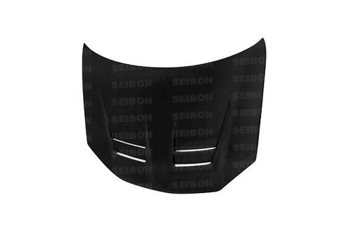 Seibon DV Style CARBON FIBER HOOD VOLKSWAGEN GOLF GTI (1K OR MK5) (SHAVED EMBLEM) 2006-2009