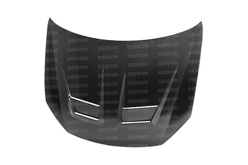Seibon DV Style CARBON FIBER HOOD VOLKSWAGEN GOLF GTI (5K OR MK6) (SHAVED EMBLEM) 2010-2011