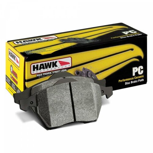Hawk 88-89 Civic Si / 92-00 Civic CX / 88-00 DX / 98-00 GX Performance Ceramic Street Front Brake Pa - HB218Z.583