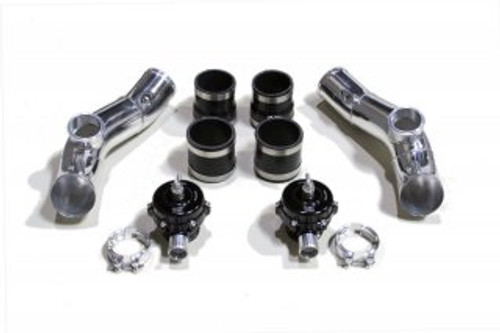 AAM Competition Upper I/C Pipe Kit with Twin BOV's for Nissan R35 GT-R