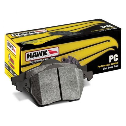 Hawk 12-15 Fiat 500 Abarth Rear Performance Ceramic Street Brake Pads - HB737Z.544