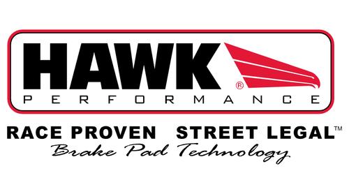 Hawk 09-12 BMW Z4 Performance Ceramic Rear Street Brake Pads - HB669Z.671