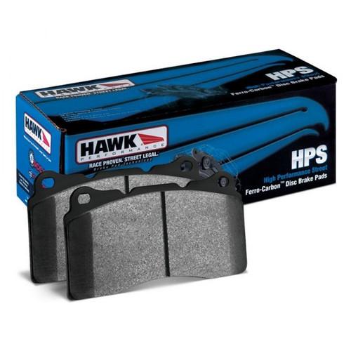 Hawk 04-07 Jeep Liberty KJ / 04-06 Wrangler Unlimited HPS Street Rear Brake Pads - HB690F.550