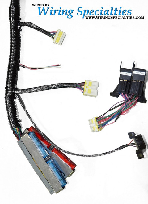 Wiring Specialties Pre-Made PRO LS1 Conversion Harness Combo - TUCKED for Nissan 240sx S14