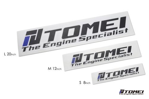 Tomei Sticker Engine Specialist 2016 8 Inch Die Cut Black S