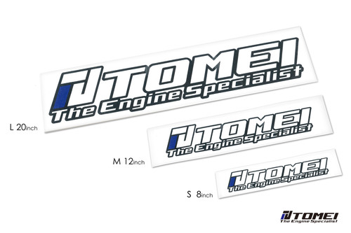 Tomei  Sticker Engine Specialist 2016 12 Inch Die Cut White M