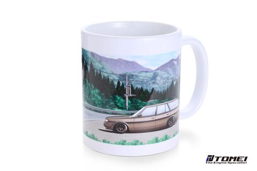 Tomei  Mug White Gx70G Mark2 Wagon Touge