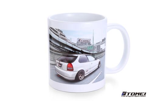 Tomei  Mug White Ek9 Civic Osaka-Kanjo