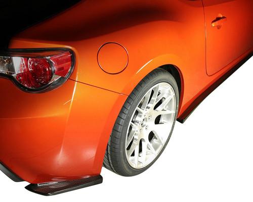 APR Carbon Fiber Rear Skirts for Subaru BRZ / Scion FR-S