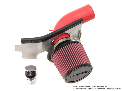 Neuspeed Neuspeed P-Flo Air Intake with Air Pump Red pipe with red filters  65.10.49R