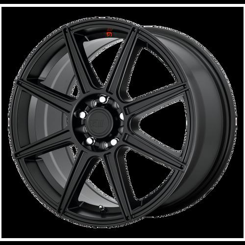 MOTEGI CS8 15x6.5 5x100.00/5x114.30 SATIN BLACK (40 mm)