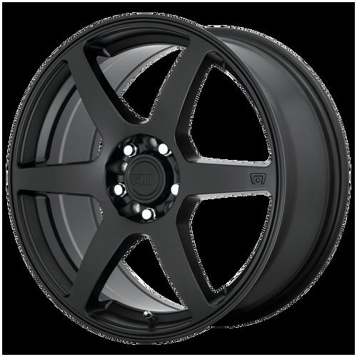 MOTEGI CS6 15x6.5 4x100.00/4x108.00 SATIN BLACK (40 mm)