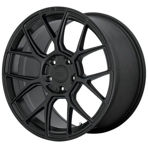 MOTEGI CM7 18x9.5 5x114.30 SATIN BLACK (45 mm)