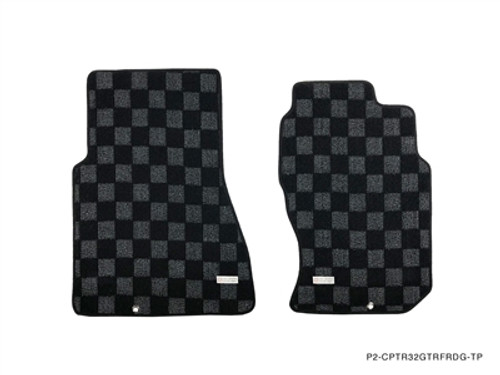 P2M Front and Rear Floor Mats for Nissan Skyline R32 GTR