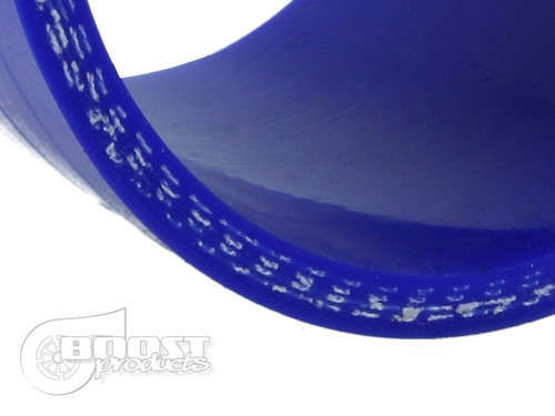 """BOOST Products Silicone Reducer Coupler, 60 - 45mm (2-3/8"""" - 1-3/4"""") ID, Blue"""