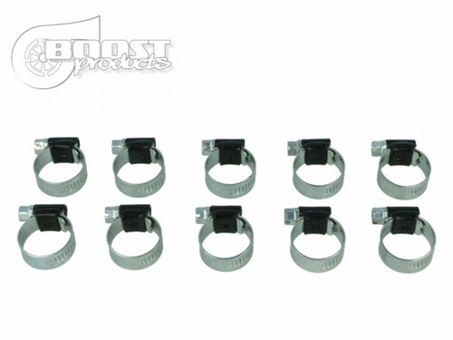"""BOOST Products 10 Pack BOOST Products HD Clamps, Black, 87-112mm (3-27/64 - 4-13/32"""") Range"""