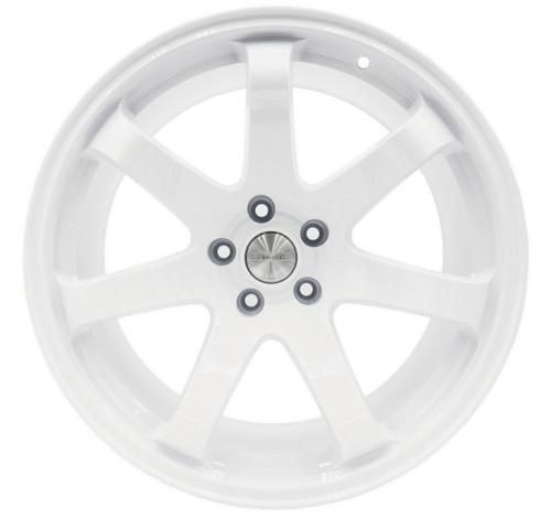 SQUARE Wheels G8 Model - 19x10.5 +12 5x114.3 - Gloss White