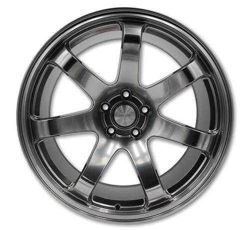 SQUARE Wheels G8 Model - 19x9.5 +15 5x114.3 - Hyper Black