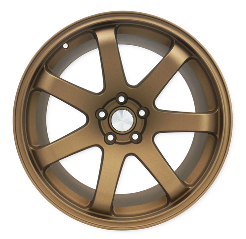 SQUARE Wheels G8 Model - 19x10.5 +12 5x114.3 - Textured Bronze