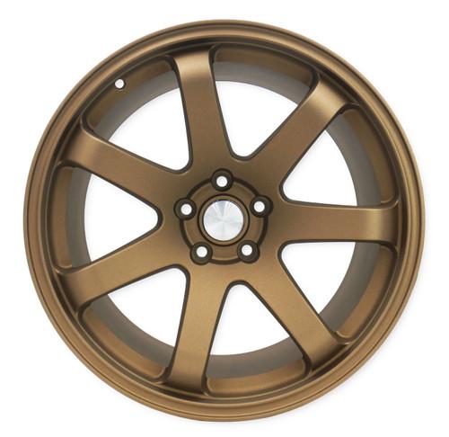 SQUARE Wheels G8 Model - 19x9.5 +15 5x114.3 - Textured Bronze