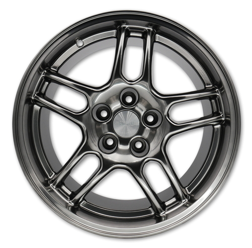 SQUARE Wheels G33 Model - 17x9  +15 5x114.3 - Limited Edition Hyper Black - (Set of 4 Wheels)