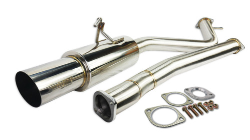 IS-GT-G37C ISR Performance Single GT Exhaust for Infiniti G37 Coupe RWD