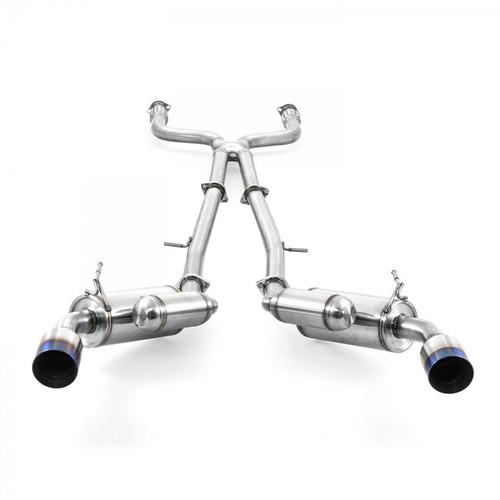 ARK Performance GRiP Exhaust Burnt Tips for Infiniti Q50 3.0t (16+) / Red Sport 400 (16+) / 3.7L (14-15)