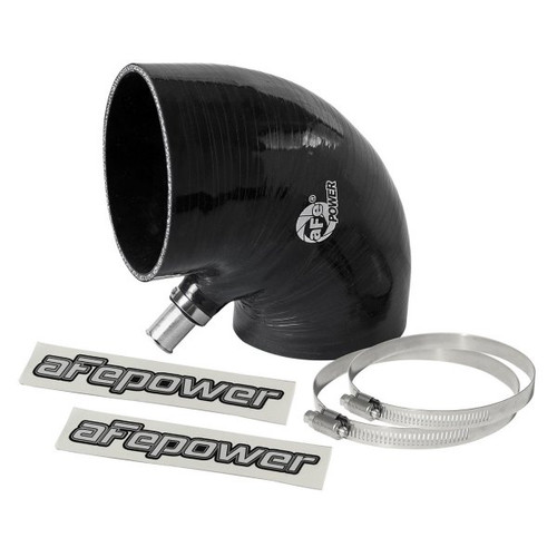 aFe Magnum FORCE Replacement Coupling Kit for (4 IN ID to 4-1/4 IN ID x 90 Deg.) Elbow Reducing Coupler - Black