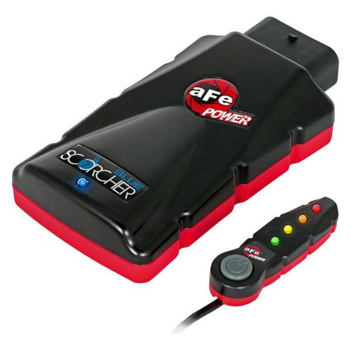 aFe SCORCHER BLUE Bluetooth Power Module for Nissan Titan XD 16-19 V8-5.0L (td)