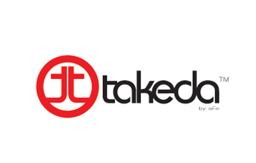 aFe Takeda Decal 4.77 x 1.65 in for (4-3/4 IN x 1-5/8 IN)