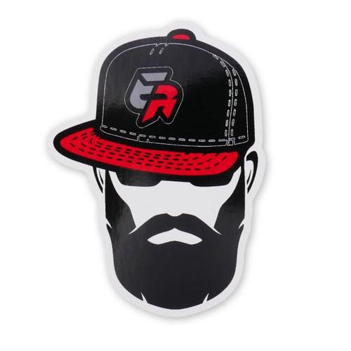 Enjuku Racing Beard Guy Sticker
