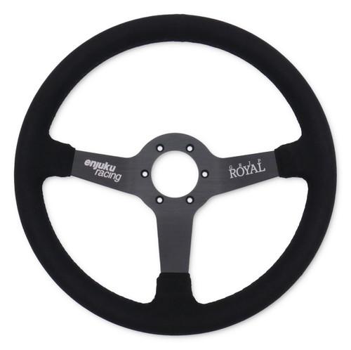 Grip Royal X Enjuku - Royal Brute 350mm Suede Steering Wheel