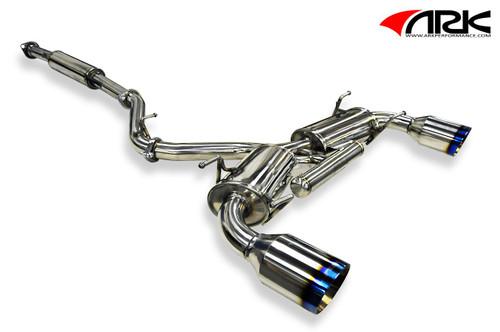 ARK DT-S Exhaust System for Scion FR-s & Subaru BRZ