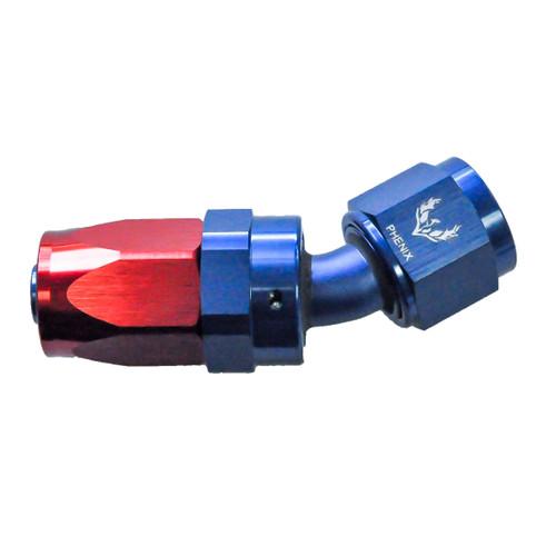 Phenix Industries Compression Swivel Hose End -08 x 30°