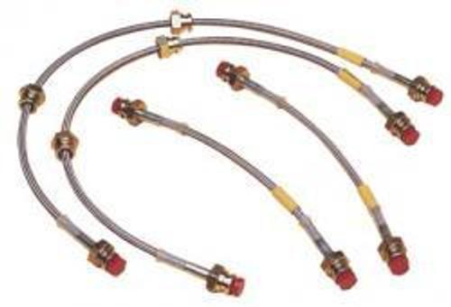 Goodridge Gstop Stainless Steel Brake Line Kits for Honda CRZ '11-'12