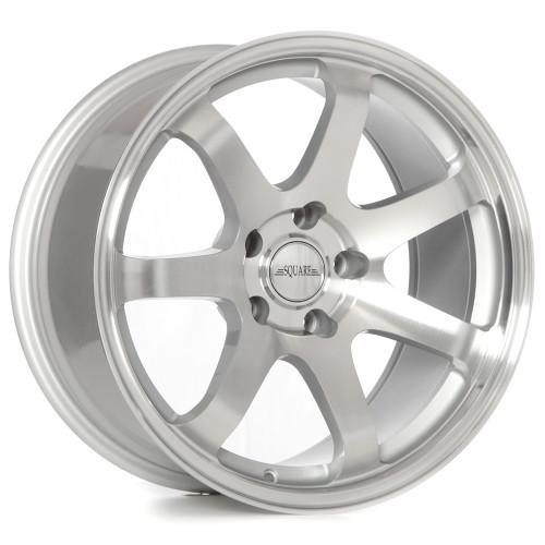 SQUARE Wheels G8 Model - 17x9 +15 5x114.3 (set of 4)