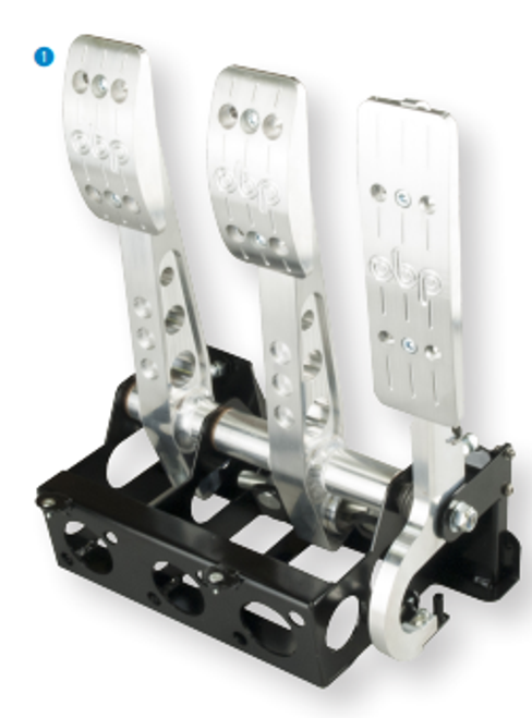 OBP Floor Mounted Fit Hydraulic Clutch Pedal Box