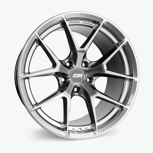 ESR Wheels RF2 19X9.5 5X120 +22 HYPER BLACK FACE HYPER BLACK LIP