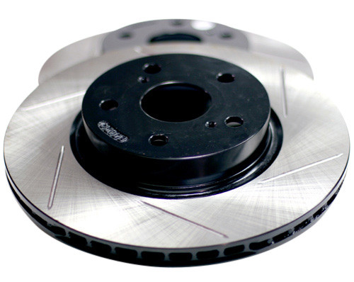StopTech Sport Slotted Front Rotors - Hyundai Genesis Coupe